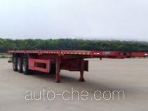 卡歌福牌SCB9400TPB型平板运输半挂车