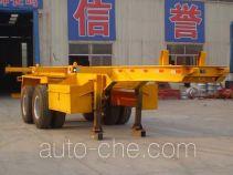 Chengshida SCD9350TJZ container transport trailer