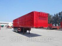 Yuchen SCD9370XXY box body van trailer