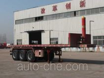 Chengshida SCD9402ZZXP flatbed dump trailer