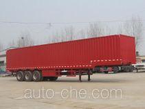 Yuchen SCD9406XXY box body van trailer