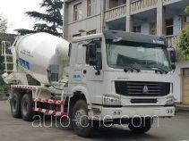 川建牌SCM5250GJBHO4型混凝土搅拌运输车