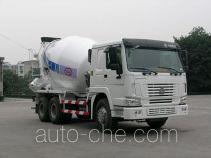 川建牌SCM5251GJBHO型混凝土搅拌运输车