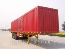 Shanchuan SCQ9391XXY box body van trailer