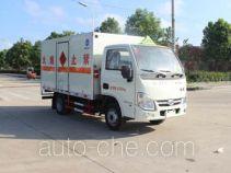 润知星牌SCS5032XRQNJ型易燃气体厢式运输车