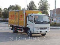 润知星牌SCS5040XRYEV型易燃液体厢式运输车