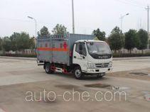 Runli Auto SCS5041TQPBJ gas cylinder transport truck