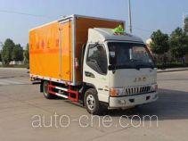润知星牌SCS5070XRYHFC型易燃液体厢式运输车
