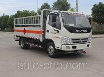 Runli Auto SCS5080TQPBJ gas cylinder transport truck