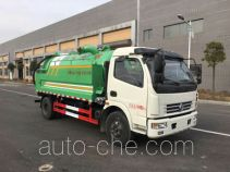 Runli Auto SCS5110GQWEV sewer flusher and suction truck