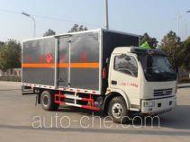 润知星牌SCS5110XRQEQ型易燃气体厢式运输车