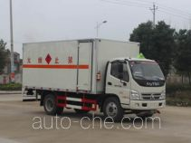 Runli Auto SCS5131XRQBJ flammable gas transport van truck