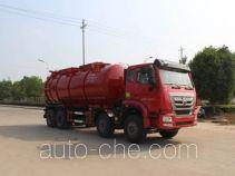 Runli Auto SCS5310GXWZZ sewage suction truck