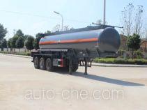 Runli Auto SCS9400GFW corrosive materials transport tank trailer