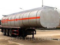 润知星牌SCS9400GRY型易燃液体罐式运输半挂车