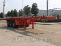 润知星牌SCS9400TJZ型集装箱运输半挂车