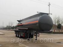 Runli Auto SCS9401GFW corrosive materials transport tank trailer