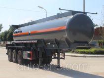 Runli Auto SCS9402GFW corrosive materials transport tank trailer