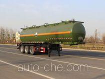 Runli Auto SCS9404GFW corrosive materials transport tank trailer
