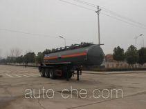 Runli Auto SCS9405GFW corrosive materials transport tank trailer