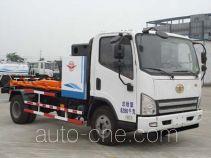 Yuanda electric hooklift hoist garbage truck