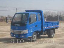 奥峰牌SD2810PD4型自卸低速货车