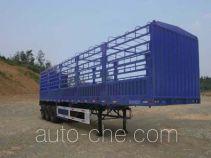 银道牌SDC9400CXY型仓栅式运输半挂车