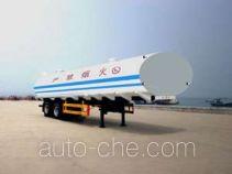 蓬翔牌SDG9340GHY型化工液体运输半挂车