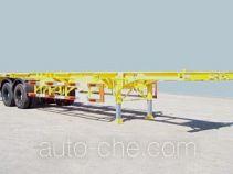 蓬翔牌SDG9350TJZ型集装箱运输半挂车