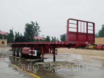 Yuntengchi SDT9400ZZXP flatbed dump trailer