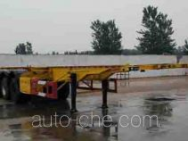Yuntengchi SDT9400TWY dangerous goods tank container skeletal trailer