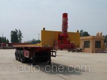 Yuntengchi SDT9403ZZXP flatbed dump trailer