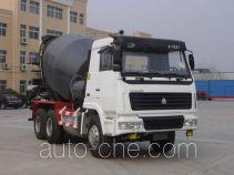 梁山东岳牌SDW5251GJBZZ型混凝土搅拌运输车