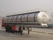 Wanshida SDW9300GHY chemical liquid tank trailer
