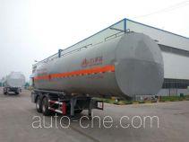 Wanshida SDW9351GRY flammable liquid aluminum tank trailer