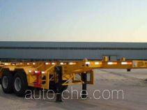 万事达牌SDW9351TJZG型集装箱运输半挂车