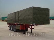 Wanshida SDW9320XXY box body van trailer