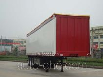 Wanshida SDW9400XXYC box body van trailer