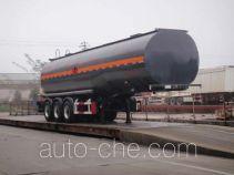 Wanshida SDW9401GRY flammable liquid tank trailer
