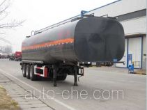 Wanshida SDW9402GRYA flammable liquid tank trailer