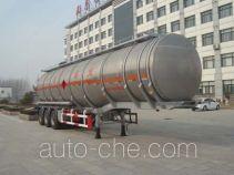 Wanshida SDW9402GYY полуприцеп цистерна алюминиевая для нефтепродуктов