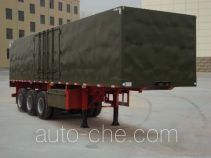 Wanshida SDW9402XXY box body van trailer