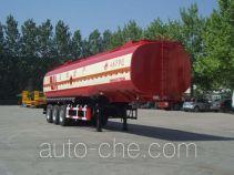 Wanshida SDW9403GRY flammable liquid tank trailer