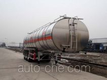 Wanshida SDW9404GRYA flammable liquid aluminum tank trailer