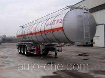 Wanshida SDW9405GRYA flammable liquid aluminum tank trailer