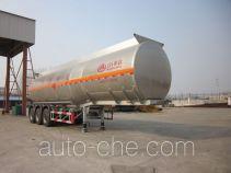 Wanshida SDW9406GRY flammable liquid aluminum tank trailer