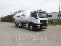 Shengdayin SDY5261GDYN2 cryogenic liquid tank truck