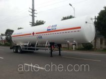 Shengdayin SDY9350GDYT cryogenic liquid tank semi-trailer