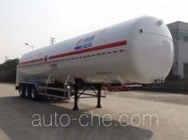 Shengdayin SDY9380GDYT cryogenic liquid tank semi-trailer