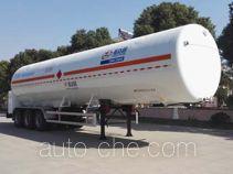 Shengdayin SDY9381GDYT cryogenic liquid tank semi-trailer